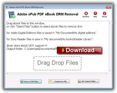 Ebook Drm Removal Software