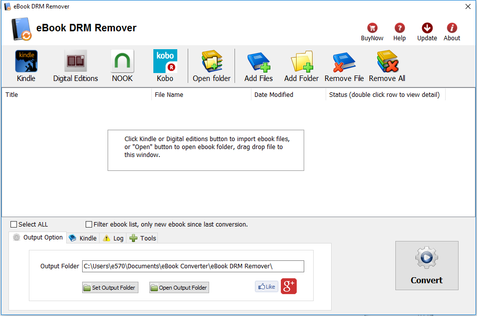 eBook DRM Removal - all in one remover - ADEPT - Kindle - NOOK