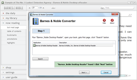 Nook ebook to PDF Converter quickly and easily converted ebook to PDF