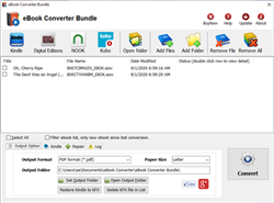 Ventana de eBook Converter Bundle