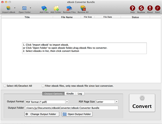 Free Kindle To EPUB Converter, Convert Kindle To EPUB ...