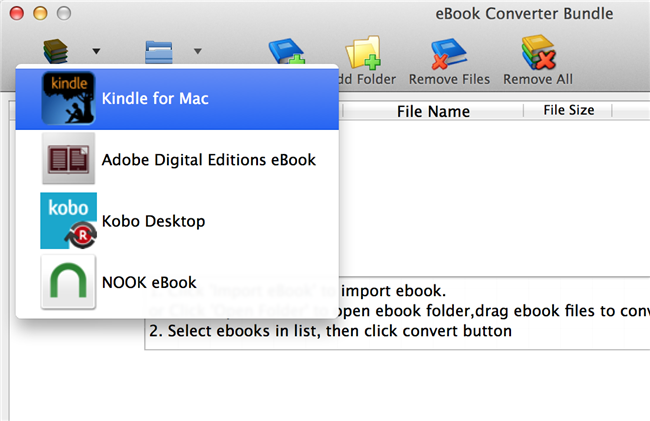 How to read kindle books in ibooks change output format to epub format at output options tab at bottom fandeluxe Document