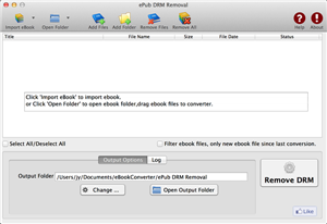 Remove Adobe DRM from epub book for Mac iBook