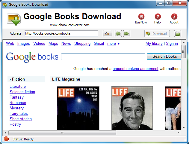 Google Book Downloader 3 download links