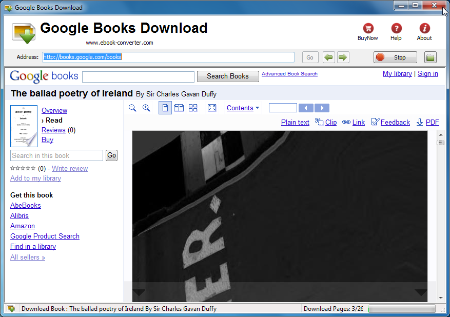 How to Download and Save Google Books as PDFs