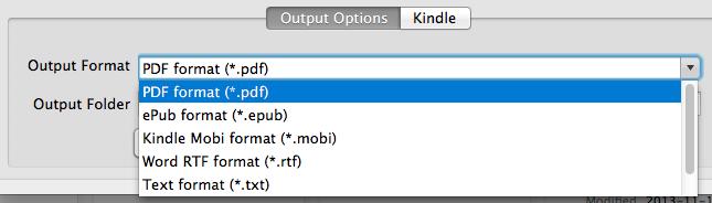 best pdf to kindle converter mac