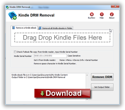 How To Remove DRM from Kindle eBooks