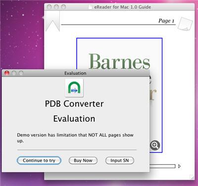 PDB DRM Removal - remove PDB drm - convert PDB to PDF/ePub/PLMZ format