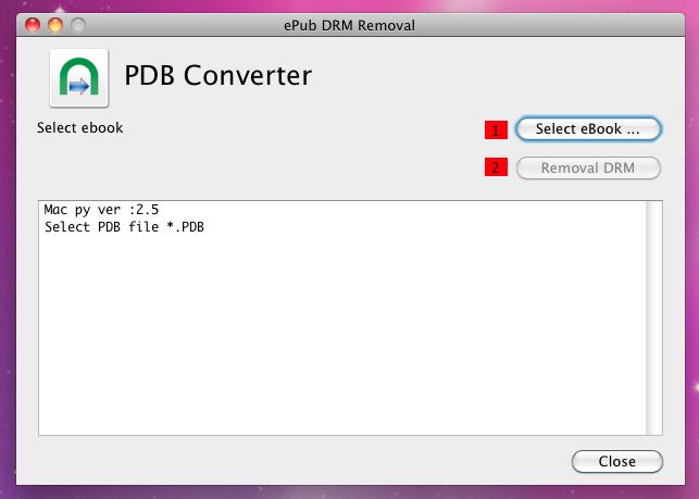 reading pdb files on mac