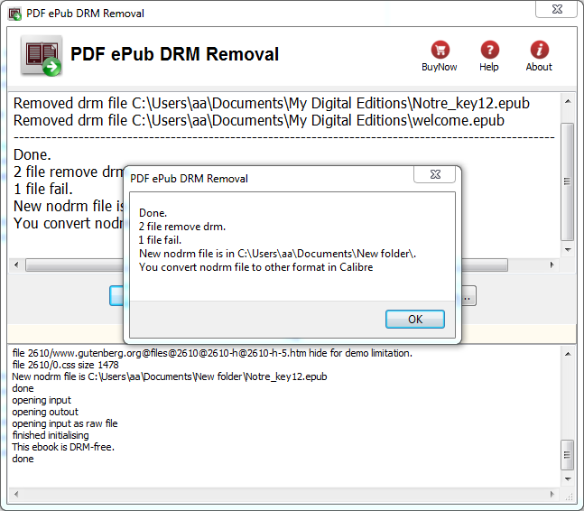Remove DRM from PDB ebook