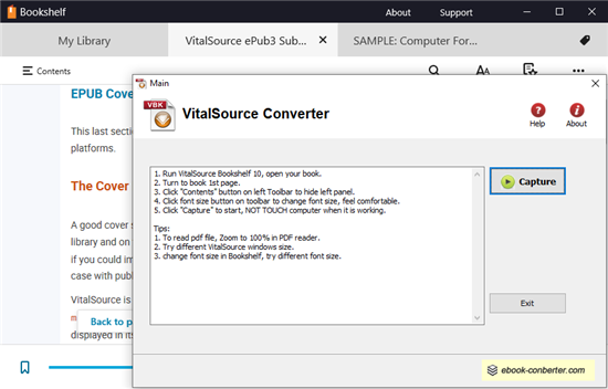 Vitalsource Downloader Is New Tools For Bookshelf Ebook