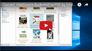 Vitalsource Converter PRO Video Guide
