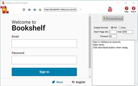 Vitalsource Downloader - download bookshelf ebook to epub pdf