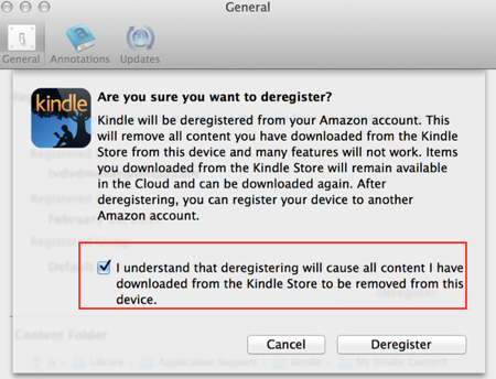 How to downgrade Kindle for PC v1 17 Kindle for Mac v1 17?
