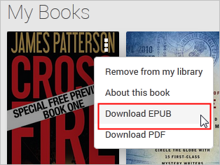 How to download Google Play ebook in Pc?
