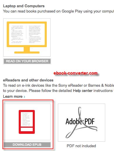 Download epub books google